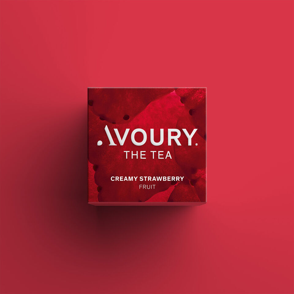 Creamy Strawberry  | Avoury. The Tea.