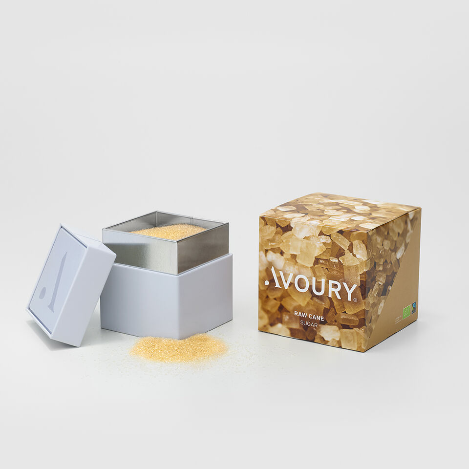 Raw Cane Sugar  | Avoury. The Tea.