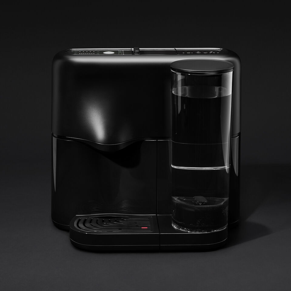Avoury One Tea Machine Pure Black  | Avoury. The Tea.